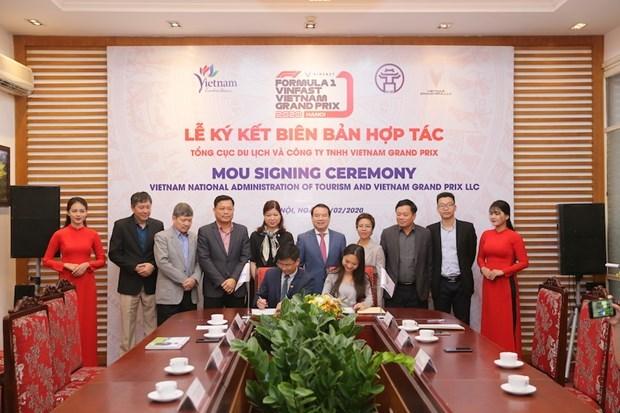 Vietnam Grand Prix collabore avec l'Administration nationale du Tourisme du Vietnam hinh anh 1