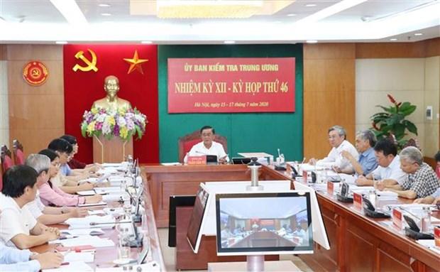La 46e reunion de la Commission de controle du Comite central du Parti hinh anh 1