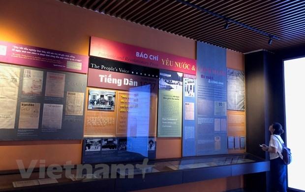 Le Musee du journalisme vietnamien retrace des moments historiques de la nation hinh anh 1
