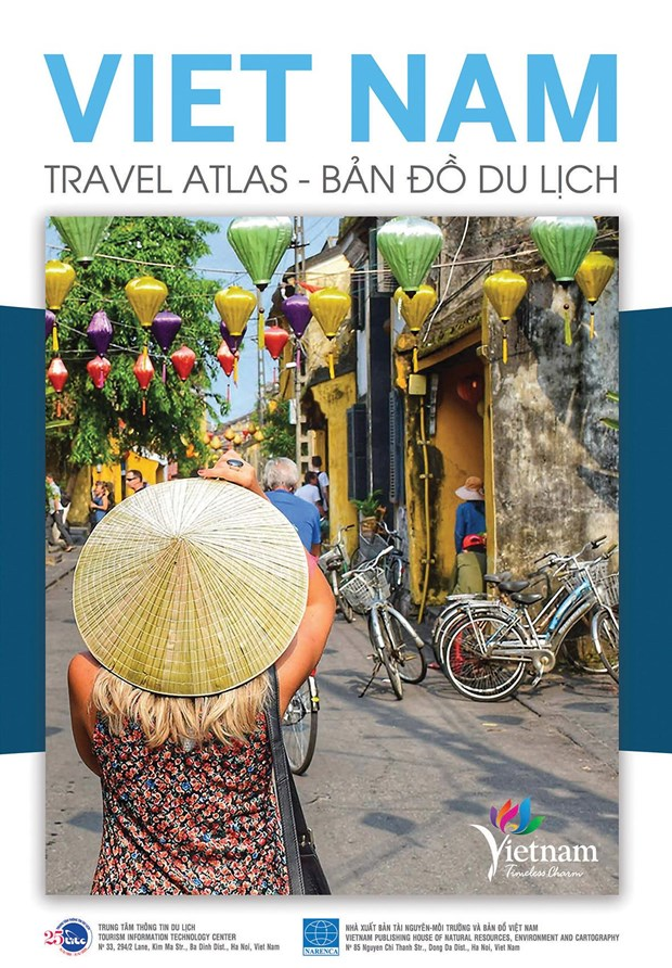 Republication de l'atlas touristique Vietnam Travel Atlas hinh anh 1
