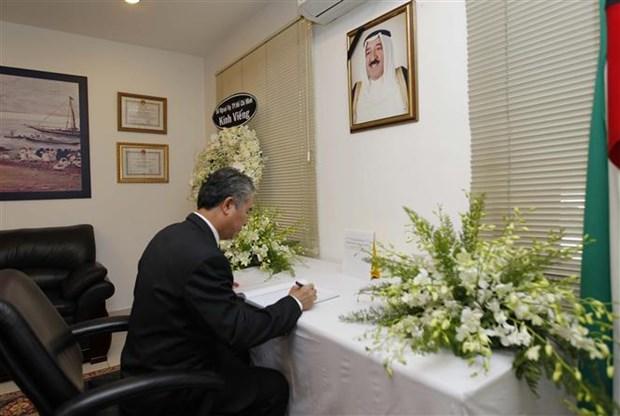 Ho Chi Minh-Ville rend hommage a l'emir du Koweit Cheikh Sabah Al Ahmad Al Jaber Al Sabah hinh anh 1