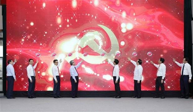 Mise en ligne d'un site d'informations sur le 13e Congres national du Parti hinh anh 1