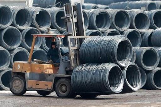 Plus d'un tiers du volume d'acier et de fer du Vietnam exporte en Chine hinh anh 1
