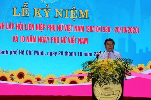 Celebrations de la Journee des femmes vietnamiennes hinh anh 1