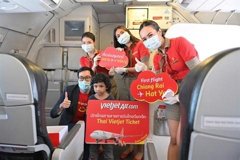 Vietjet inaugure une nouvelle ligne reliant deux grandes villes thailandaises hinh anh 1