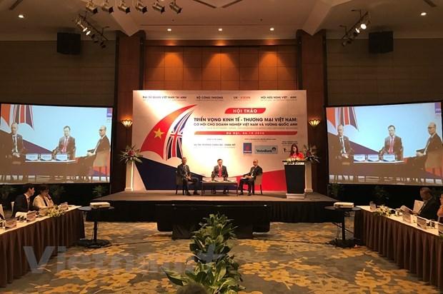 Libre-echange : les negociations Vietnam - Royaume-Uni devraient etre achevees d'ici fin 2020 hinh anh 1