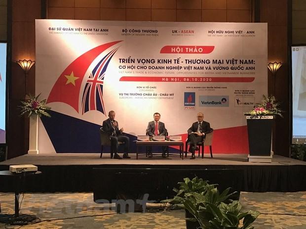 Libre-echange : les negociations Vietnam - Royaume-Uni devraient etre achevees d'ici fin 2020 hinh anh 2