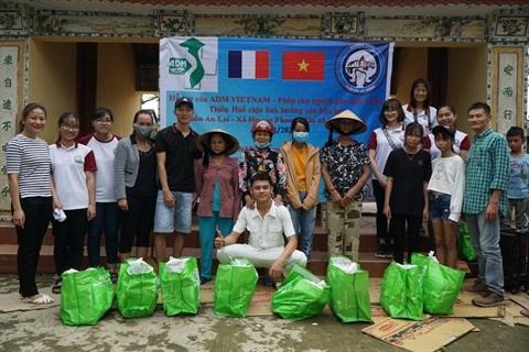 ADM VIETNAM aux cotes des populations touchees par les inondations hinh anh 1