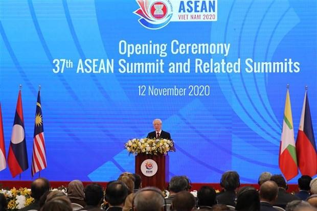 Ouverture du 37e Sommet de l'ASEAN et des conferences connexes hinh anh 1