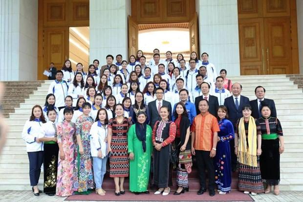 Vu Duc Dam rend hommage a des enseignants issus des ethnies minoritaires hinh anh 1