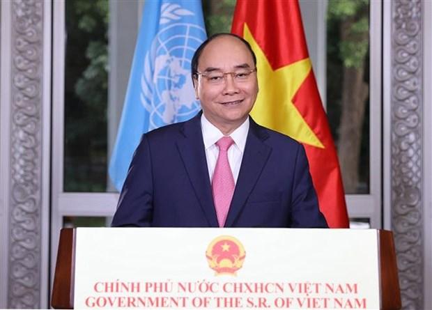 COVID-19 : le PM envoie un message a la session extraordinaire de l'Assemblee generale de l'ONU hinh anh 1