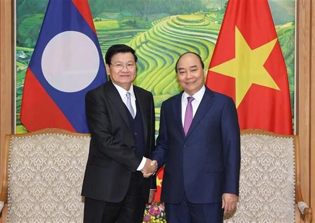 Reunion du Comite intergouvernemental pour la cooperation bilaterale Vietnam-Laos hinh anh 1