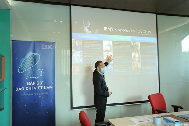 IBM s'engage a soutenir l'avancement technologique du Vietnam hinh anh 1