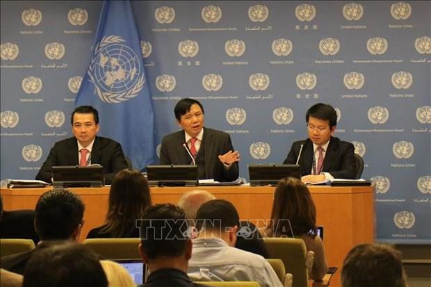 Le Vietnam remplit avec succes sa mission au Conseil de securite en 2020 hinh anh 1