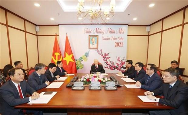 Le Vietnam soutient fermement les reformes, la defense et le developpement du Laos hinh anh 2