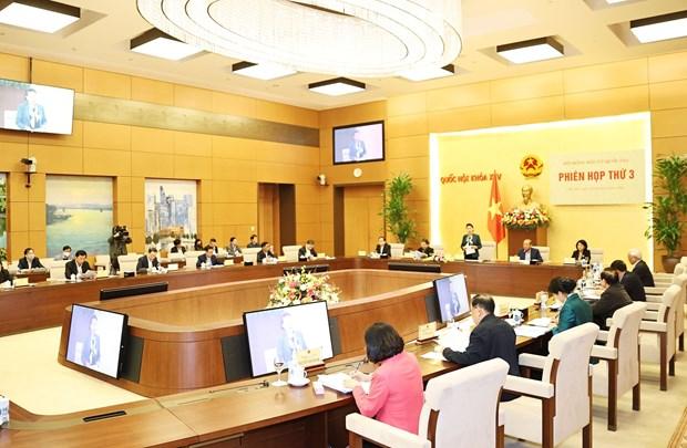 La presidente de l'AN preside la 3e reunion du Conseil electoral national hinh anh 2