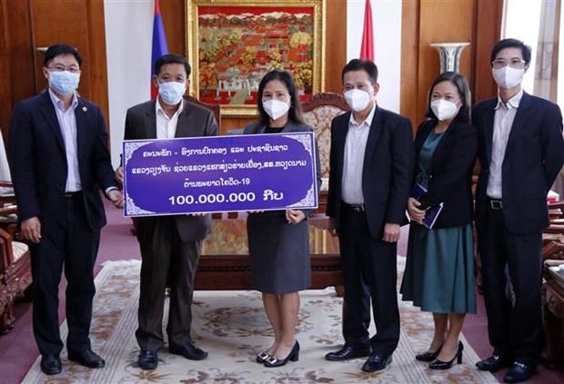COVID-19 : la province lao de Vientiane assiste Hai Duong hinh anh 1