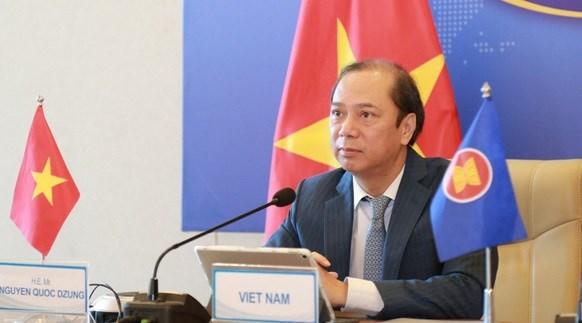Le Vietnam participe a des reunions de l'ASEAN hinh anh 1