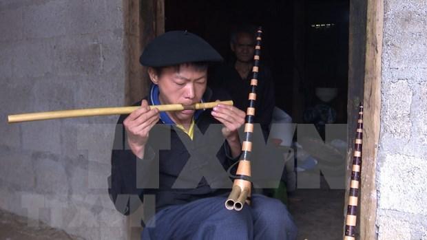 Efforts pour preserver le khen des H'Mong sur le plateau calcaire de Ha Giang hinh anh 2