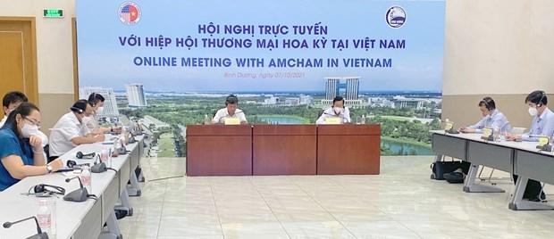 Binh Duong cree les meilleures conditions possibles aux entreprises hinh anh 2