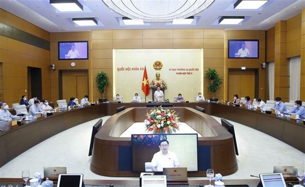 Cloture de la 4e reunion du Comite permanent de l'Assemblee nationale hinh anh 2