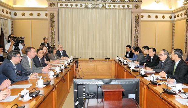 Ho Chi Minh-Ville renforce sa cooperation avec les Etats-Unis en matiere d'education hinh anh 2