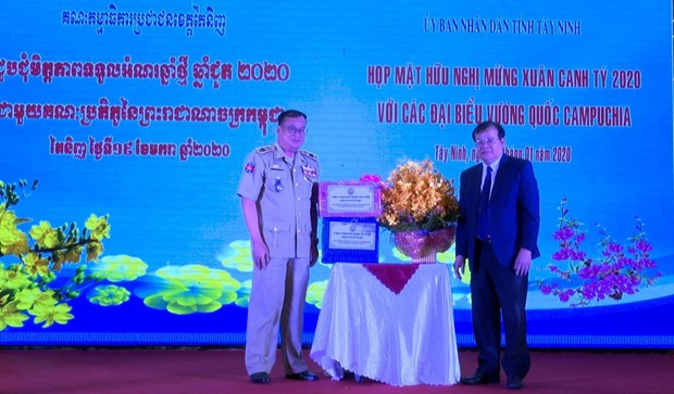 Tay Ninh renforce sa cooperation avec et des localites cambodgiennes hinh anh 1