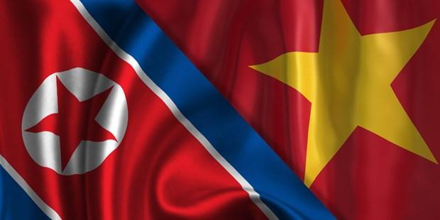 Vietnam-RPDC: Messages de felicitations pour les 70 ans de l'etablissement des liens diplomatiques hinh anh 1