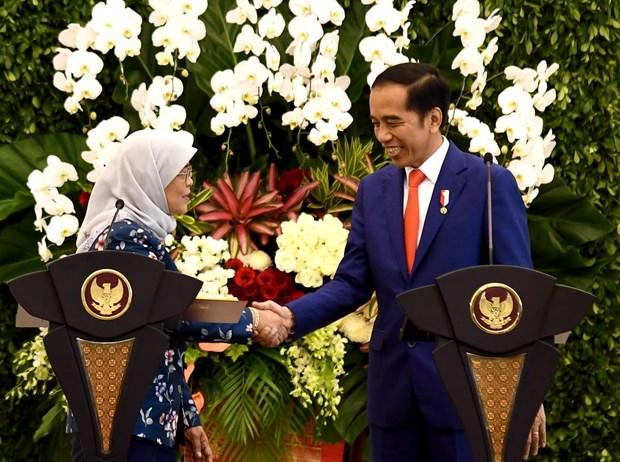 L'Indonesie et Singapour concluent un accord sur la non double imposition hinh anh 1