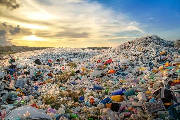 L'Indonesie construira des usines transformant des dechets plastiques en diesel hinh anh 1