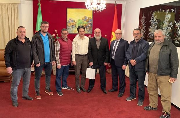 Rencontre des representants des sectes d'arts martiaux vietnamiens en Algerie hinh anh 1