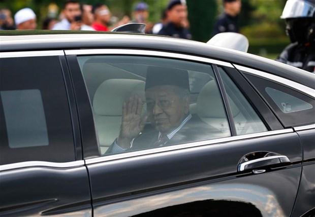 Le roi de Malaisie accepte officiellement la demission de Mahathir Mohamad hinh anh 1