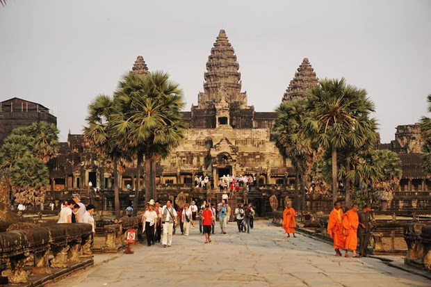 Cambodge : recettes touristiques estimees a pres de 5 milliards de dollars en 2019 hinh anh 1