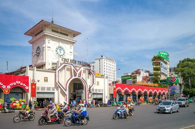 Ho Chi Minh-Ville accueille 346.650 touristes etrangers en fevrier hinh anh 1