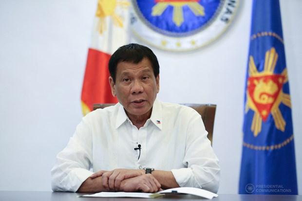 Le president philippin signe une loi accordant des pouvoirs speciaux pour faire face au COVID-19 hinh anh 1