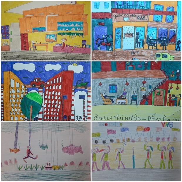 COVID-19 : les dessinateurs d'Urban Sketchers rejoignent la lutte hinh anh 4