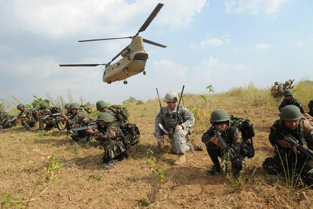 Les Etats-Unis annulent un exercice militaire annuel avec les Philippines en raison du COVID-19 hinh anh 1
