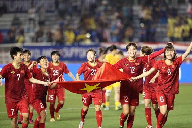 Football feminin : le Vietnam conserve sa premiere place en Asie du Sud-Est hinh anh 1
