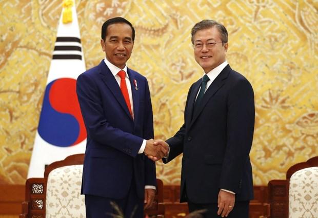 Seoul et Jakarta ont convenu de signer leur accord commercial bilateral des que possible hinh anh 1