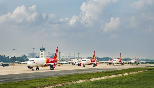 Vietjet Air ajoute trois vols pour desservir les passagers ayant termine leur periode de quarantaine hinh anh 1
