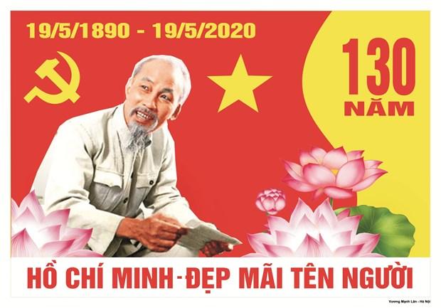De nombreuses activites prevues pour marquer le 130e anniversaire du President Ho Chi Minh hinh anh 1
