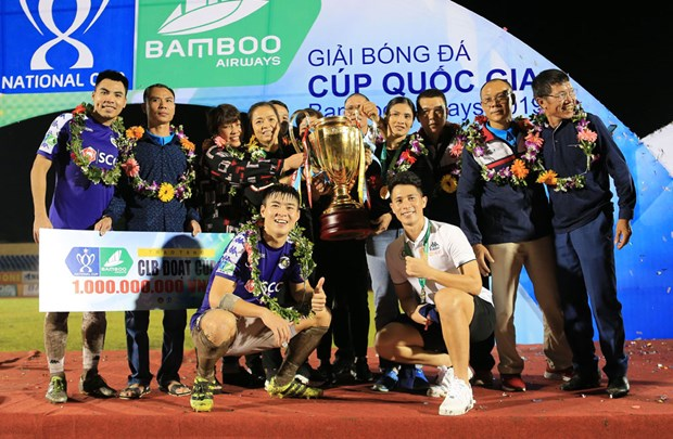 La Coupe nationale de football Bamboo Airways 2020 devrait commencer le 24 mai hinh anh 1