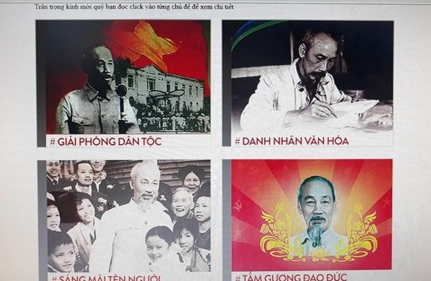 Diverses expositions celebrant le 130e anniversaire de la naissance du President Ho Chi Minh hinh anh 2