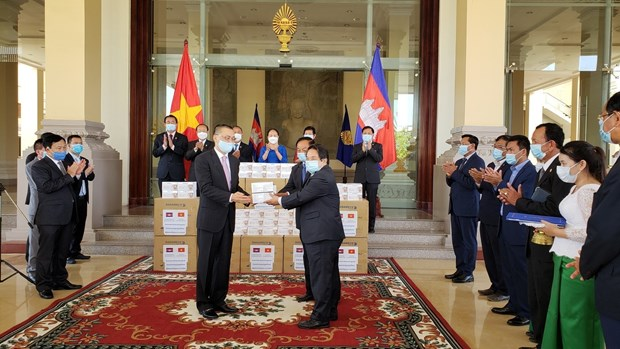 Le Cambodge remercie l'AN du Vietnam pour son aide dans la lutte anticoronavirus hinh anh 1