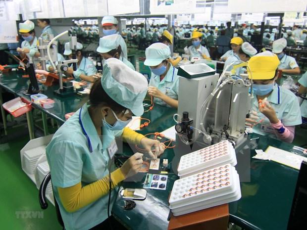 Exportations d'ordinateurs, de produits electroniques et de pieces detachees en hausse en 4 mois hinh anh 1