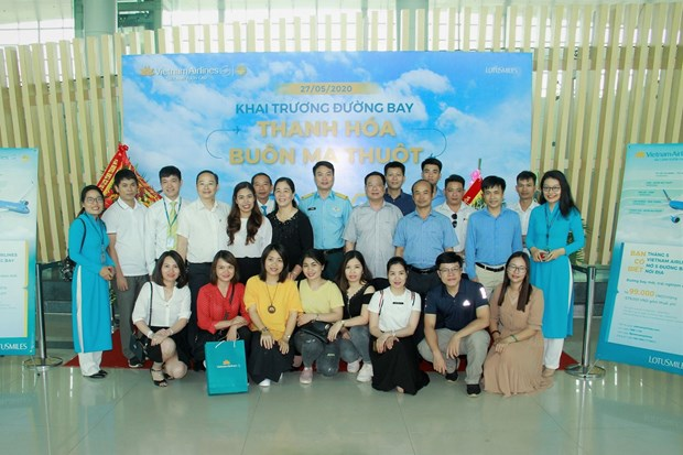 Vietnam Airlines lance sa ligne directe Thanh Hoa - Buon Ma Thuot hinh anh 1