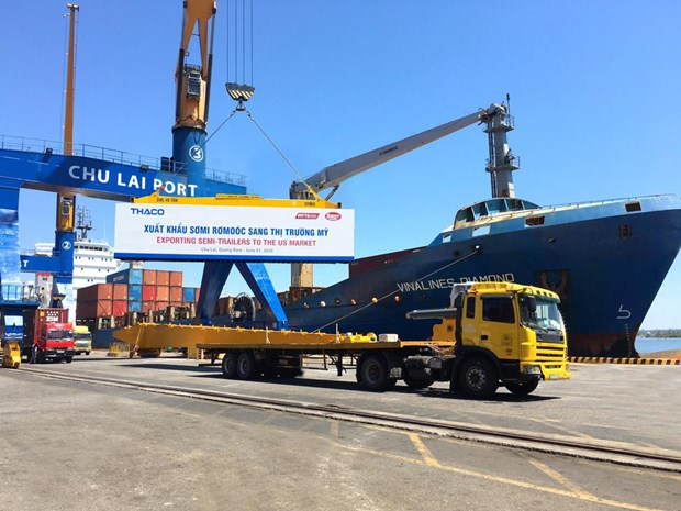 THACO exporte des semi-remorques aux Etats-Unis hinh anh 1