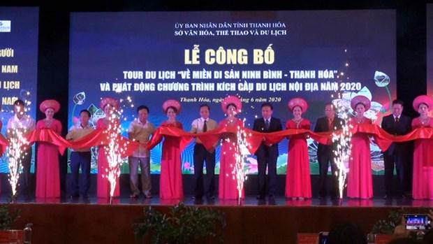 """Lancement du programme touristique """"Retour a la zone patrimoniale de Ninh Binh – Thanh Hoa"""" hinh anh 1"""