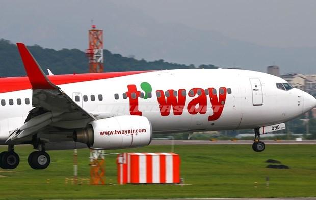 T'way Airlines rouvrira la ligne aerienne Ho Chi Minh-Ville - Incheon (R. de Coree) hinh anh 1