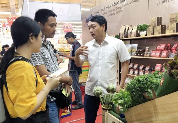 Ouverture de la Semaine des produits agricoles securitaires 2020 a Ho Chi Minh-Ville hinh anh 1